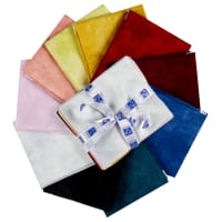 "P&B Textiles Suede 6 18"" Fat Quarters 10 pcs"