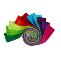 "P&B Textiles Suede Brights 2.5"" Strips 40 pc"