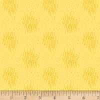 Stoffabric Denmark Dots Dark Yellow