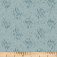 Stoffabric Denmark Dots Dusty Blue