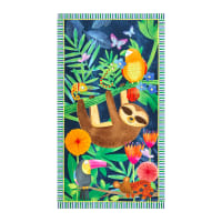 "Tropical Zone Tropical Panel 24"" Blue"