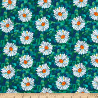 Unicorn-ocopia Digital  Daisies Green