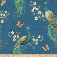 Peacock Pavilion Spaced Peacock Blue
