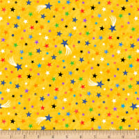 Lost In Space Multi Colored Stars Yellow