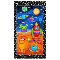 "Lost In Space Space 24"" Panel Multi"