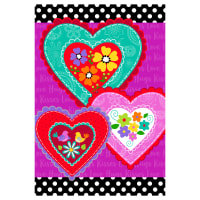 "Studio E  Love Is Forever 30"" Heart Panel Multi"
