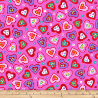 Studio E Love Is Forever Medium Tossed Hearts Pink