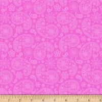 Studio E Love Is Forever Monotone Paisley Pink