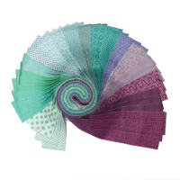 "Camelot Mixology Mermaid 2 1/2"" Strips Multi 40 pcs"