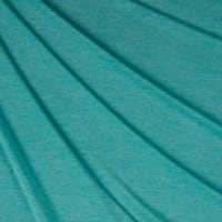Double Brushed Poly Jersey Knit Two Tone Mint