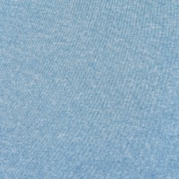 Double Brushed Poly Jersey Knit Two Tone Light Blue