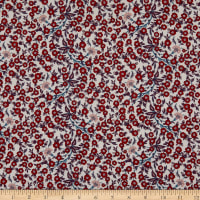 Liberty Fabrics Tana Lawn Empress Red