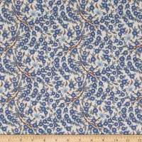 Liberty Fabrics Empress Blue