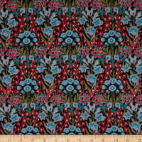 Liberty Fabrics Tana Lawn Mountain Primrose Red/Multi