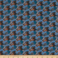 Liberty Fabrics Tana Lawn Little Eustacia Blue/Teal