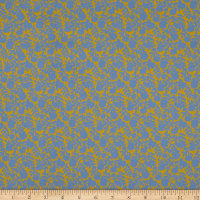 Liberty Fabrics Tana Lawn Dawn Dream Blue/Yellow