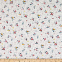 Liberty Fabrics Tana Lawn Chiara Light Gray