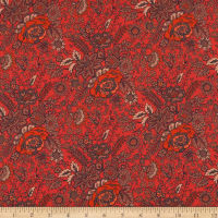 Liberty Fabrics Tana Lawn Nottingham Red
