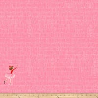 Michael Miller Fabrics Lola Dutch  At The Library Peach