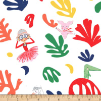 Michael Miller Fabrics Lola Dutch Lola Loves Matisse Cherry