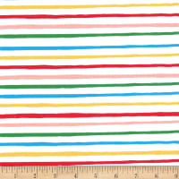 Michael Miller Fabrics Lola Dutch Lola Stripe Soft White
