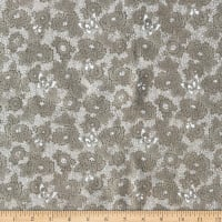 Oasis Serenity Dotted Floral Brown