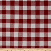 EXCLUSIVE Sunbrella Check Me Out 45953-00010 Crimson