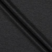 California Stretch French Terry Charcoal