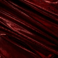 Moonlight Metallic Dancewear Spandex Stretch Knit Red