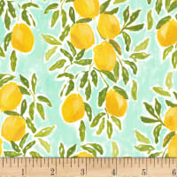 Dear Stella Digital Pink Lemonade Lemons Multi