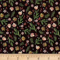 Dear Stella Digital Woodland Fairytale Ditsy Floral Multi