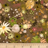 Dear Stella Digital Woodland Fairytale Wildflowers Multi