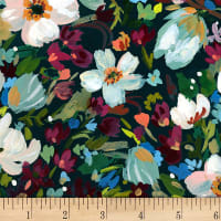 Dear Stella Digital Woodland Fairytale Marin Bouquet Multi