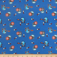 Marvel Captain America Flannel Blue
