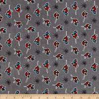 Marvel Spiderman Flannel Grey