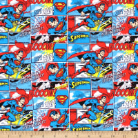 DC Comics Superman Stripe Flannel Multi