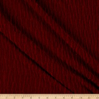Telio Chenille Novelty  Knit Cranberry
