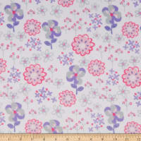 Exclusive Shannon Studio Digital Minky Cuddle Flower Patch Spring