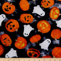 Shannon Studio Digital Minky Cuddle Pumpkin Orange