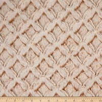 Shannon Minky Luxe Cuddle Frosted Gem Camel/Beige