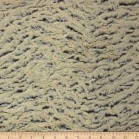 Shannon Minky Luxe Cuddle Frosted Zebra Brown