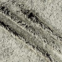 Shannon Minky Luxe Cuddle Frosted Shaggy Black/White