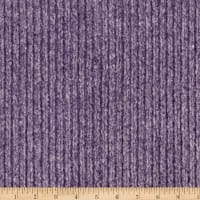 Shannon Minky Luxe Cuddle Weave Eggplant