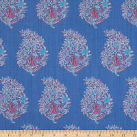 Lacefield Designs The English Room Agra Periwinkle