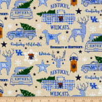 NCAA Kentucky Wildcats Christmas Allover
