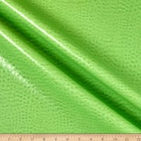 Non-Backed Crocodile Faux Leather Lime
