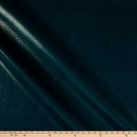 Non-Backed Crocodile Faux Leather Teal