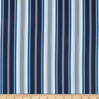 Michael Miller Beginnings Stripe Navy