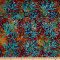 Michael Miller Tropical Batiks Palm Bloom Batik Caribe