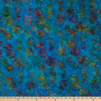 Michael Miller Tropical Batiks Pineapple Batik Lagoon